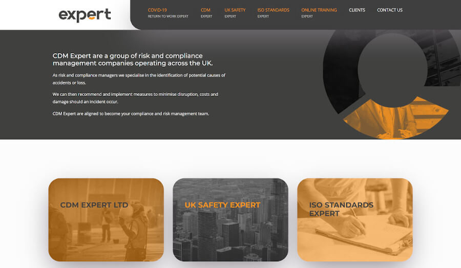 Website for Expert Group