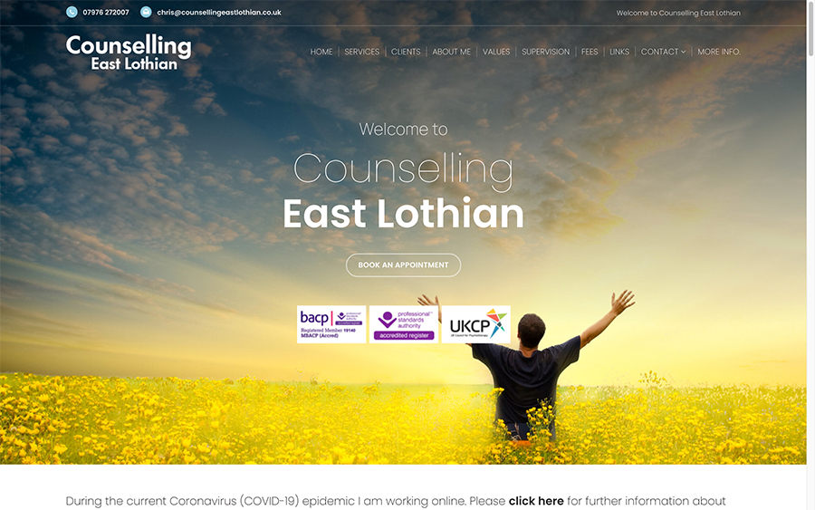 Counselling East Lothian Site