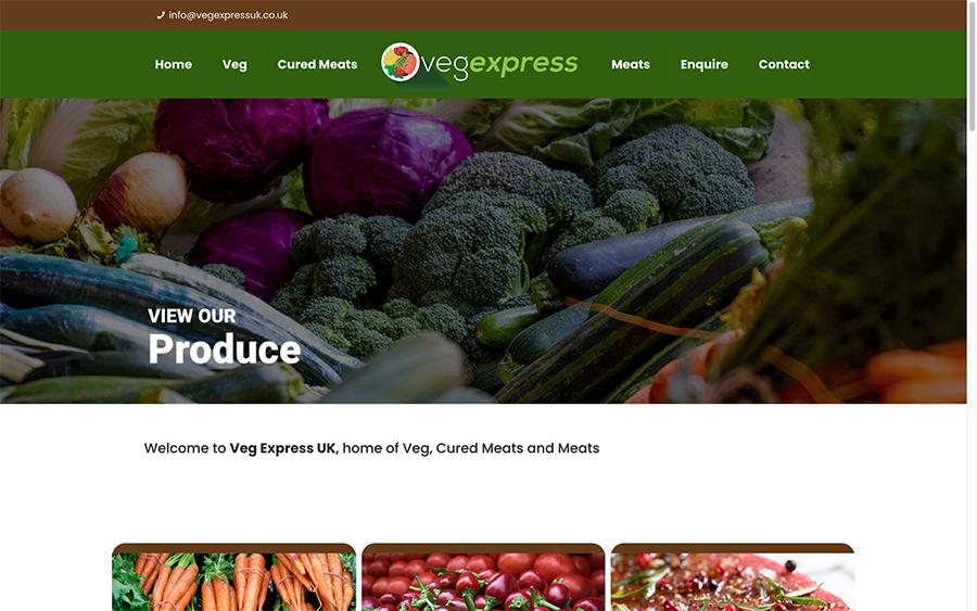 Veg Express Website