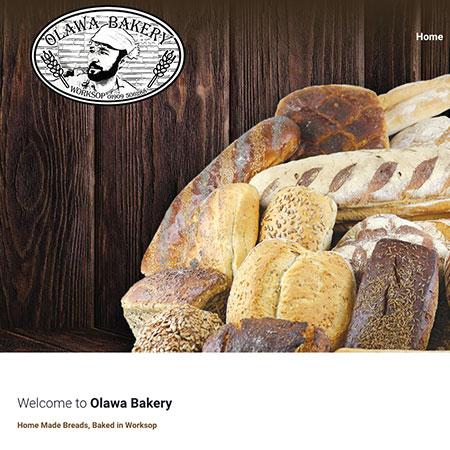 Olawa Bakery Website