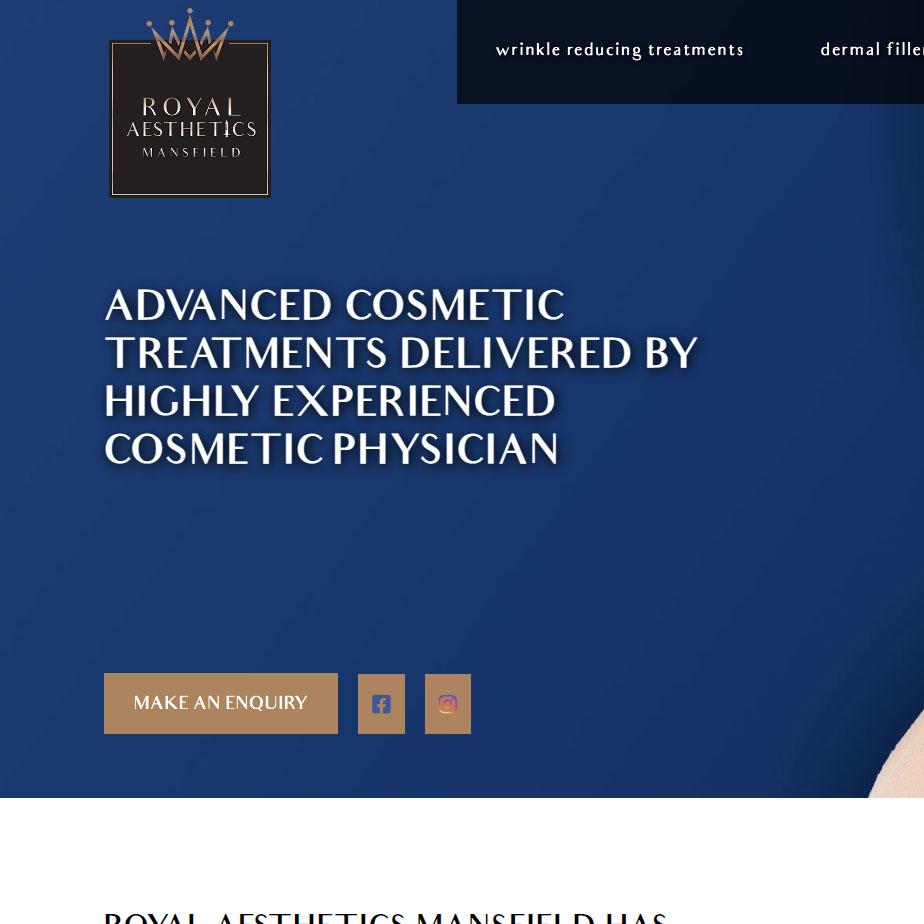 Royal Aesthetics Site