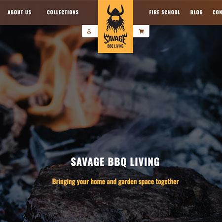 Savage BBQ Site
